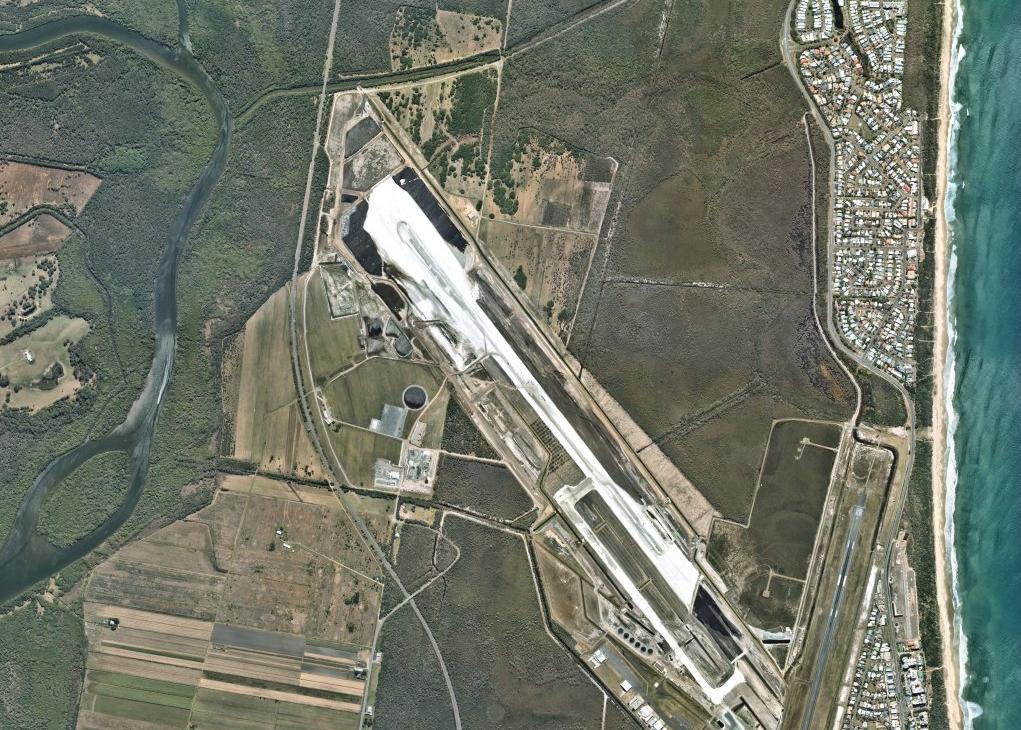 Sunshine Coast Airport SRC: Nearmap